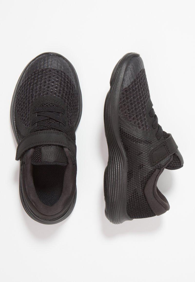 Nike Performance - REVOLUTION 4 - Neutrala löparskor - black/white/anthracite
