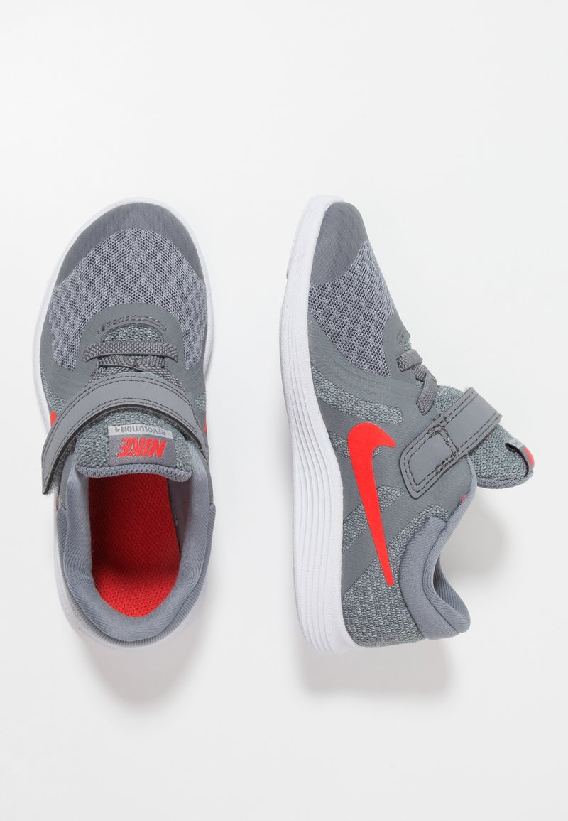 Nike Performance - REVOLUTION 4 - Laufschuh Neutral - cool grey/habanero red/wolf grey/white