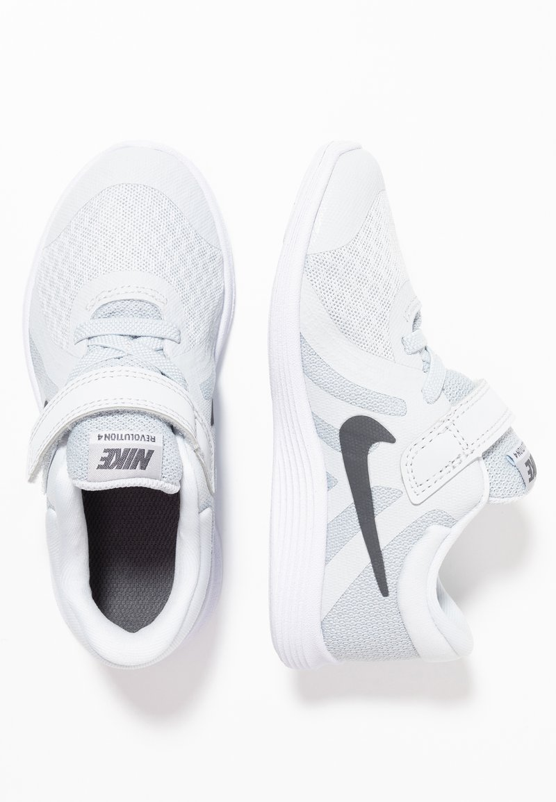 Nike Performance - REVOLUTION 4 - Laufschuh Neutral - pure platinum/dark grey/wolf grey/white