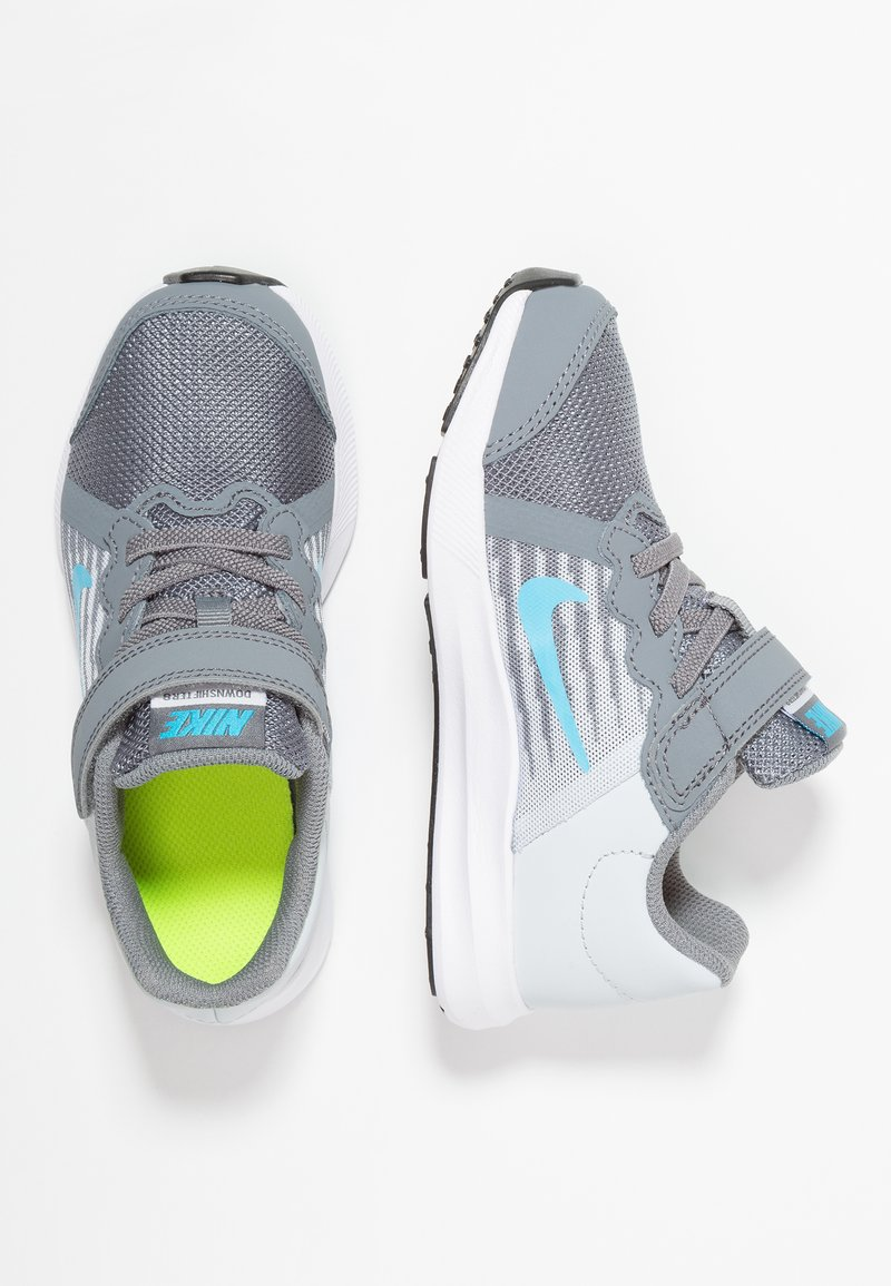 Nike Performance - DOWNSHIFTER 8 - Neutral running shoes - cool grey/blue fury/pure platinum/white