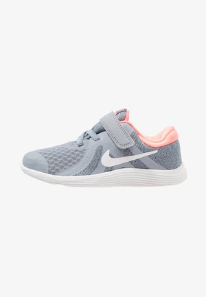 REVOLUTION 4 - Neutral running shoes - obsidian mist/white/lava glow/armory blue