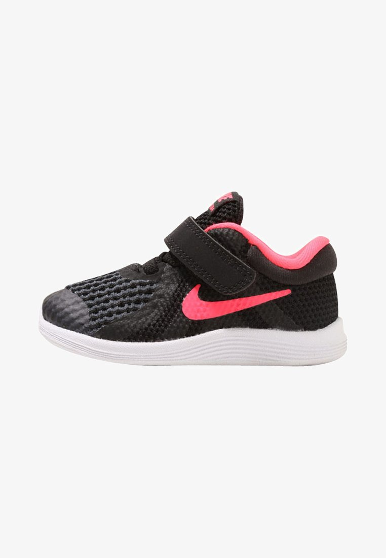 Nike Performance - REVOLUTION 4 - Neutral running shoes - black/white/racer pink