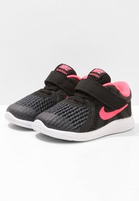 Nike Performance - REVOLUTION 4 - Obuwie do biegania treningowe - black/white/racer pink - 2