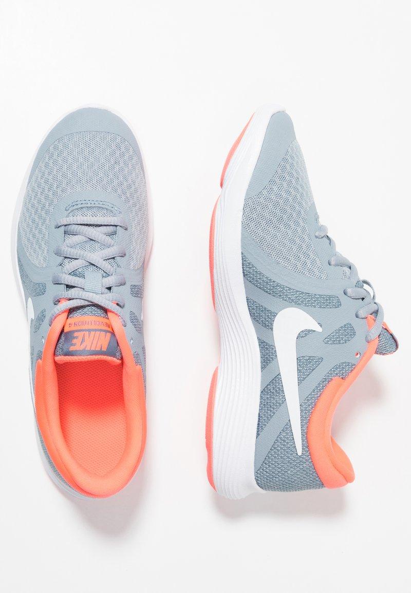 Nike Performance - REVOLUTION 4 - Laufschuh Neutral - obsidian mist/white/lava glow/armory blue