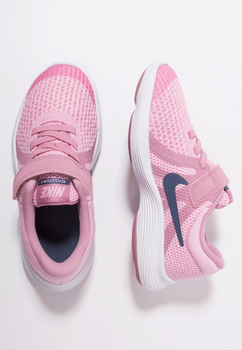 Nike Performance - REVOLUTION 4 - Neutral running shoes - pink/diffused blue/elemetal pink/white