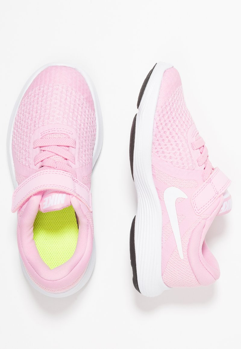 Nike Performance - REVOLUTION 4 - Laufschuh Neutral - pink rise/white/pink foam/black