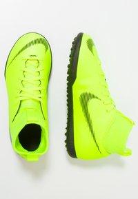 Nike Performance - MERCURIAL SUPERFLYX 6 CLUB TF - Korki Turfy - volt/black - 0