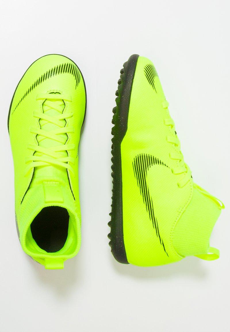 Nike Performance - MERCURIAL SUPERFLYX 6 CLUB TF - Korki Turfy - volt/black