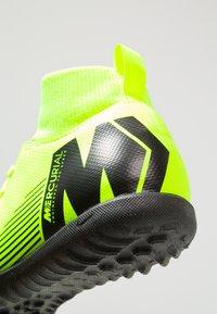 Nike Performance - MERCURIAL SUPERFLYX 6 CLUB TF - Korki Turfy - volt/black - 2