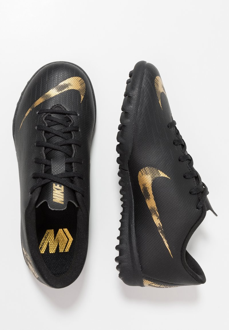 Nike Performance - MERCURIAL VAPORX  - Fußballschuh Multinocken - black/metallic vivid gold