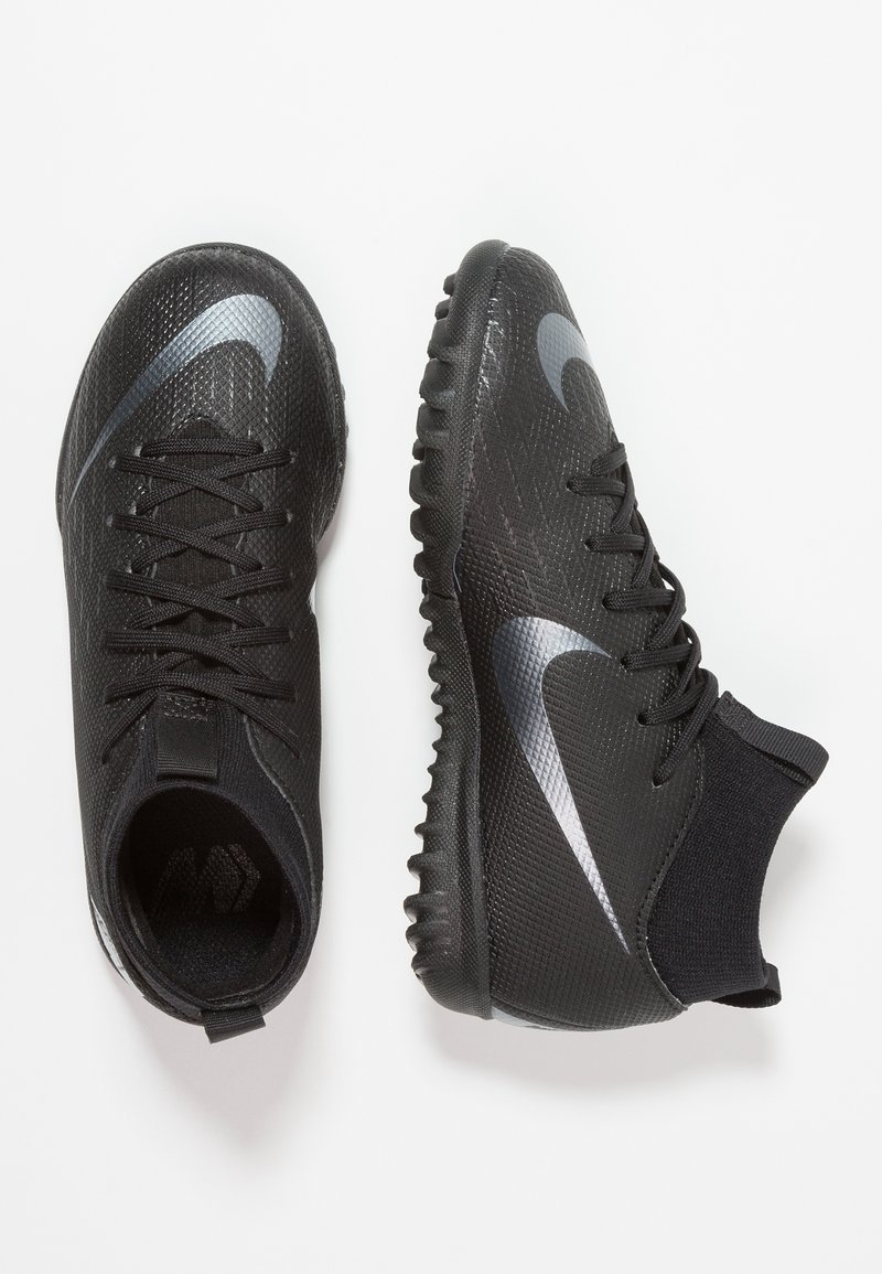 Nike Performance - MERCURIAL SUPERFLYX ACADEMY TF - Fotballsko for kunstgress - black