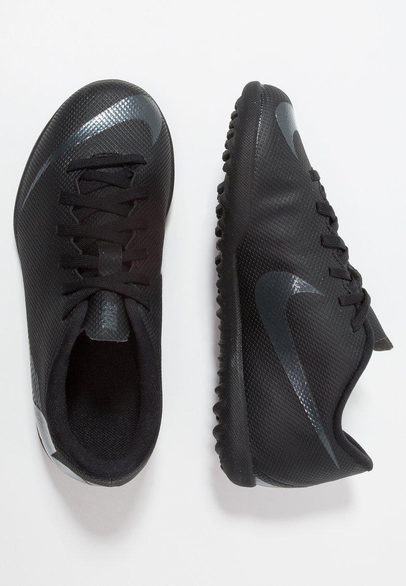 Nike Performance - MERCURIAL VAPORX 12 CLUB TF - Fußballschuh Multinocken - black/anthracite/light crimson