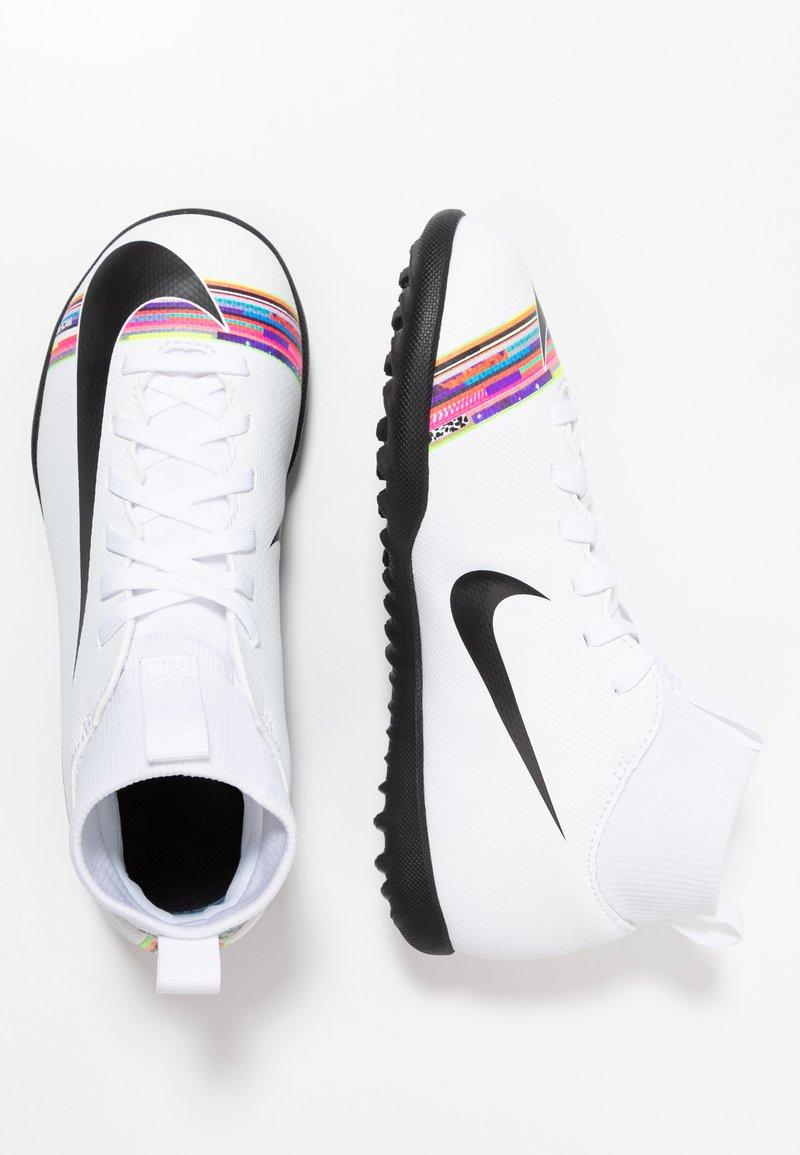 Nike Performance - MERCURIAL 6 CLUB TF - Fußballschuh Multinocken - white/black