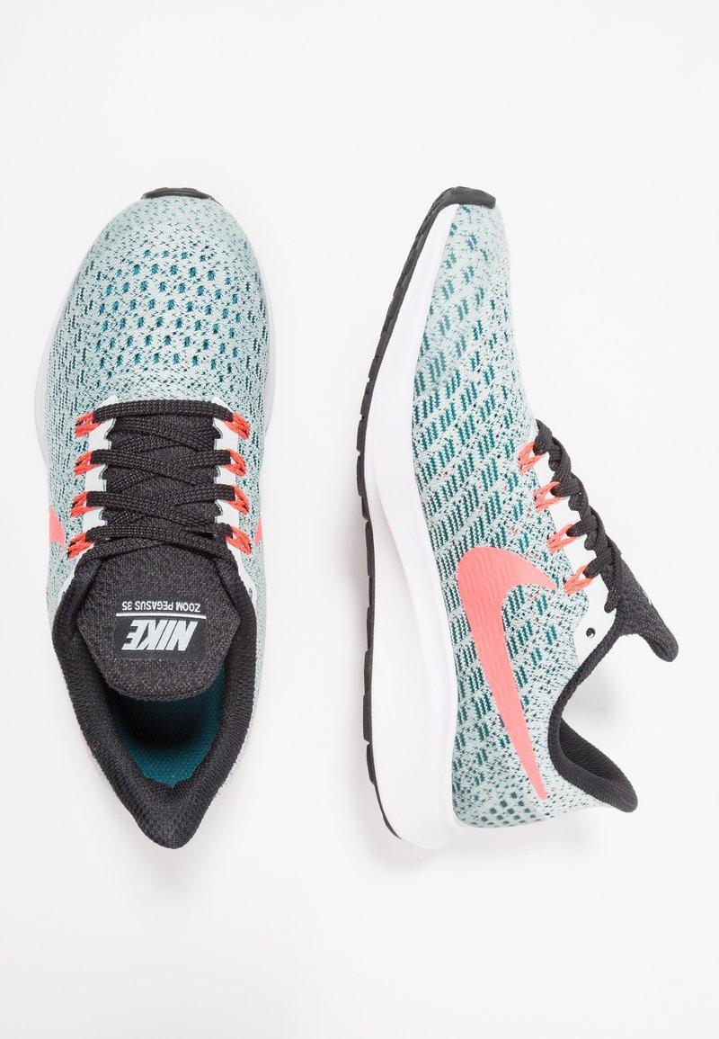 Nike Performance - AIR ZOOM PEGASUS 35 - Neutrale løbesko - barely grey/hot punch/geode teal