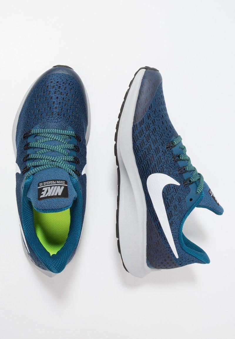 Nike Performance - AIR ZOOM PEGASUS 35 - Neutrale løbesko - blue force/white/black/wolf grey/volt