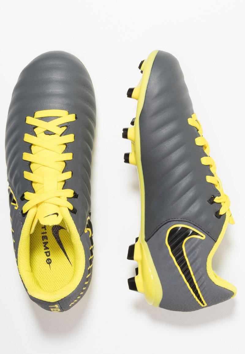 Nike Performance - TIEMPO LEGEND 7 ACADEMY MG - Korki Lanki - dark grey/black/opti yellow