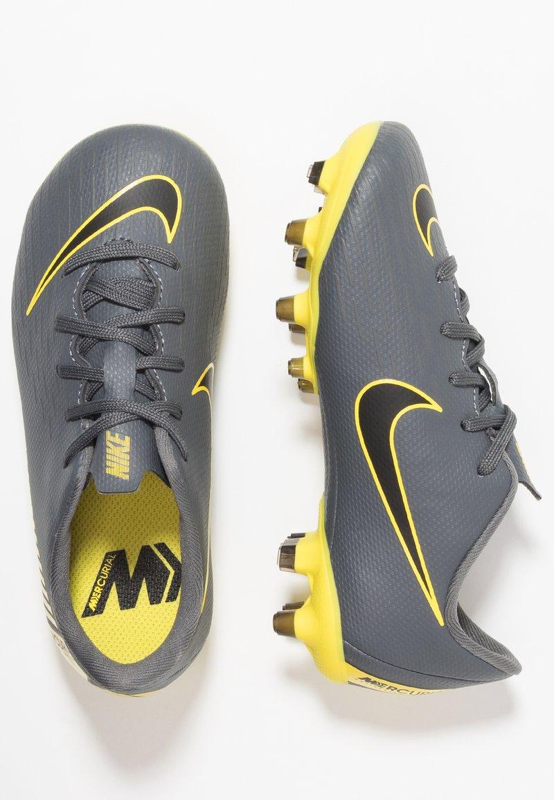 Nike Performance - MERCURIAL VAPOR 12 ACADEMY MG - Korki Lanki - dark grey/black/opti yellow