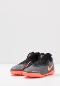 Nike Performance - PHANTOM OBRAX 3 ACADEMY DF TF - Korki Turfy - dark grey/bright mango/black - 3