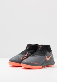 Nike Performance - PHANTOM OBRAX 3 ACADEMY DF IC - Halówki - dark grey/bright mango/black - 3