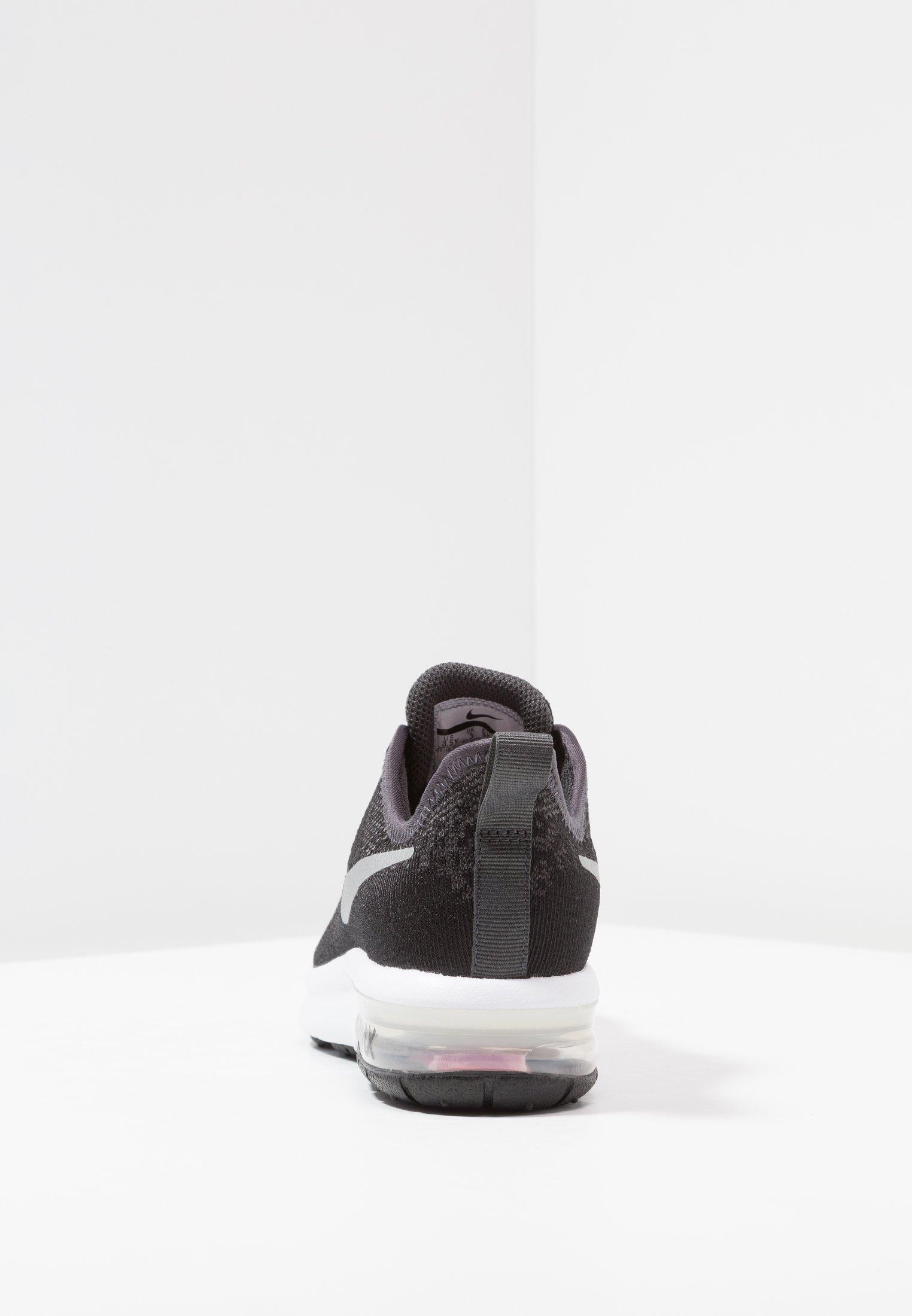 AIR MAX SEQUENT 4 Chaussures de running neutres blackmetallic silveranthracitewhite
