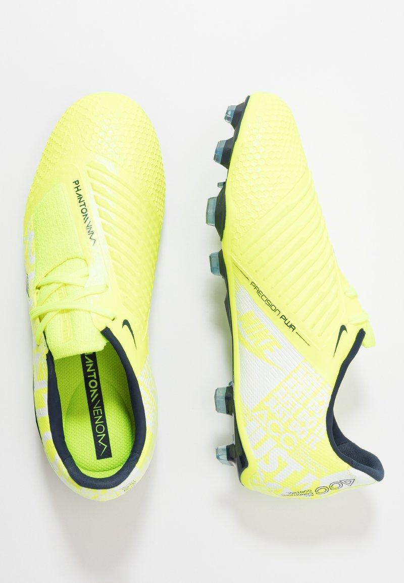 Nike Performance - PHANTOM ELITE FG - Voetbalschoenen met kunststof noppen - volt/obsidian/barely volt