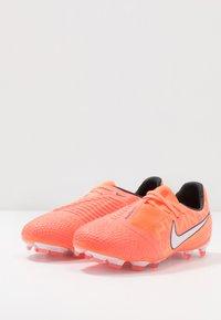 Nike Performance - PHANTOM ELITE FG - Voetbalschoenen met kunststof noppen - bright mango/white/orange/anthracite - 3