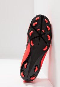 Nike Performance - NIKE JR. PHANTOM ACADEMY FG FUSSBALLSCHUH FÜR NORMALEN RASEN FÜR ÄLTERE KINDER - Voetbalschoenen met kunststof noppen - bright crimson/black/metallic silver - 5