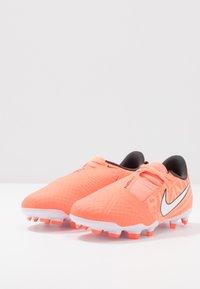 Nike Performance - NIKE JR. PHANTOM ACADEMY FG FUSSBALLSCHUH FÜR NORMALEN RASEN FÜR ÄLTERE KINDER - Voetbalschoenen met kunststof noppen - bright mango/white/orange/anthracite - 3