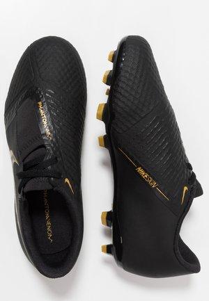 PHANTOM ACADEMY FG - Voetbalschoenen met kunststof noppen - black/metallic vivid gold