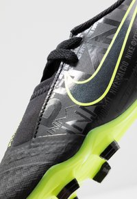 Nike Performance - NIKE JR. PHANTOM ACADEMY FG FUSSBALLSCHUH FÜR NORMALEN RASEN FÜR ÄLTERE KINDER - Botas de fútbol con tacos - black/volt - 2