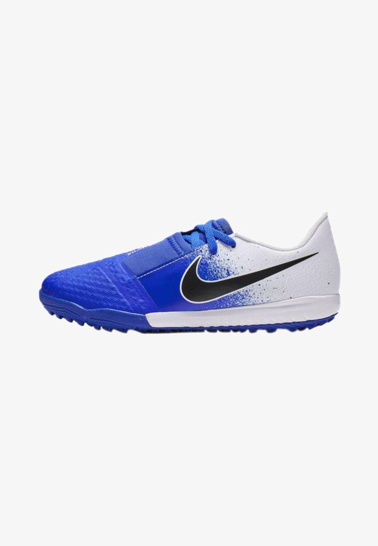 Nike Performance - PHANTOM ACADEMY TF - Fußballschuh Multinocken - white/racer blue/black