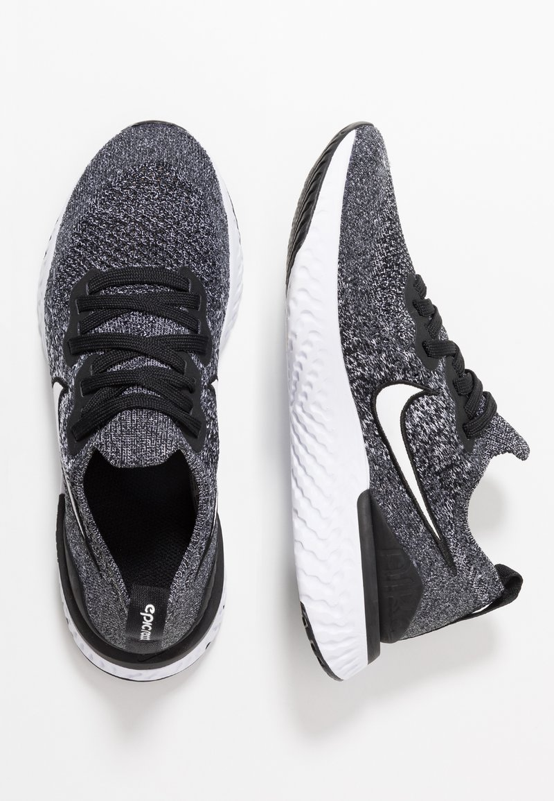 Nike Performance - EPIC REACT FLYKNIT 2 - Chaussures de running neutres - black/white