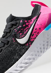 Nike Performance - EPIC REACT FLYKNIT 2 - Chaussures de running neutres - black/white/pink blast/vivid purple - 2