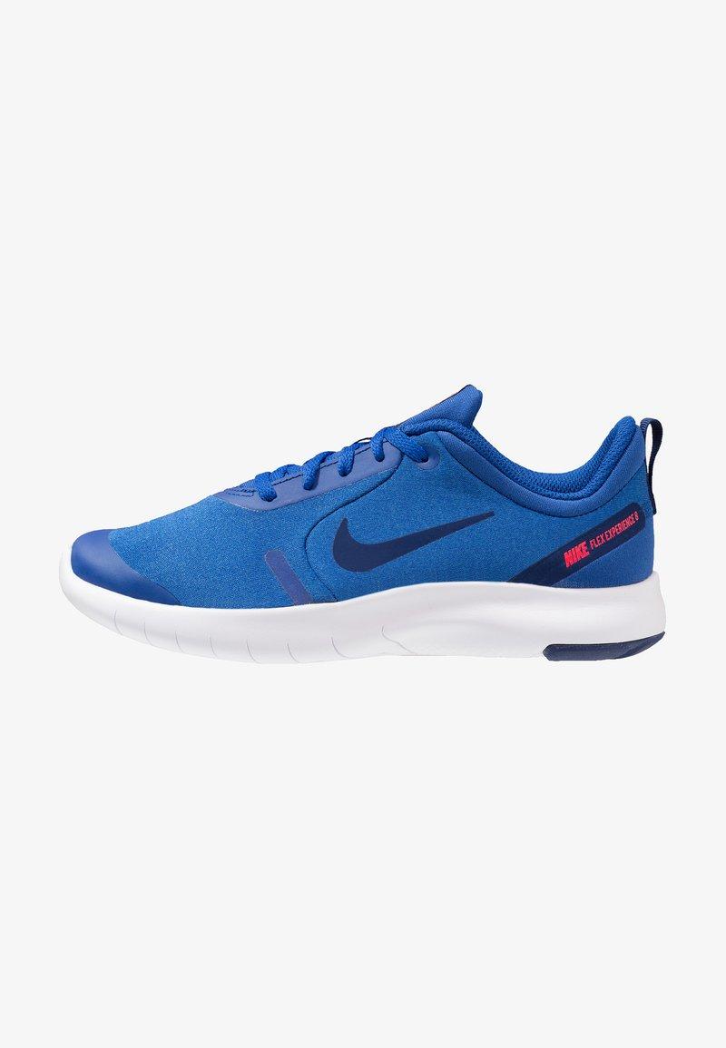 Nike Performance - FLEX EXPERIENCE RN 8 - Hardloopschoenen neutraal - indigo force/blue void/photo blue/red orbit