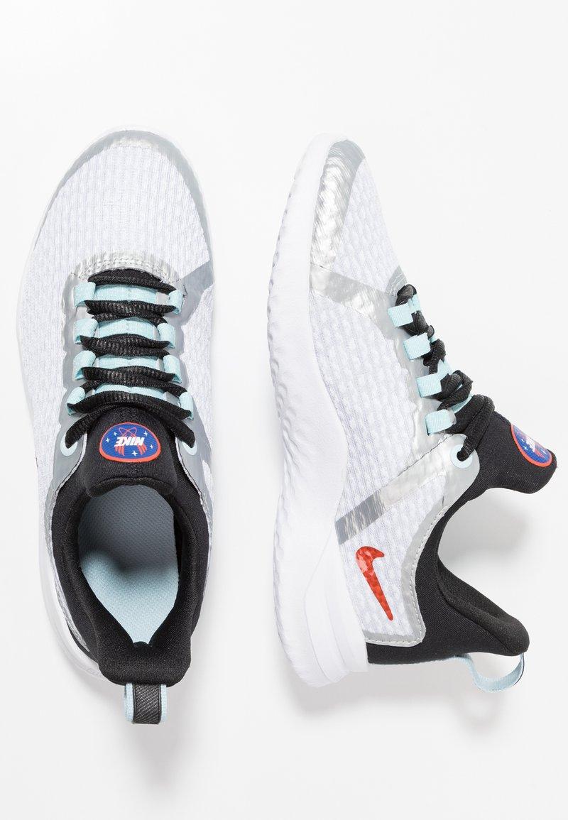 Nike Performance - RENEW RIVAL SD - Laufschuh Neutral - pure platinum/team orange/black/topaz mist