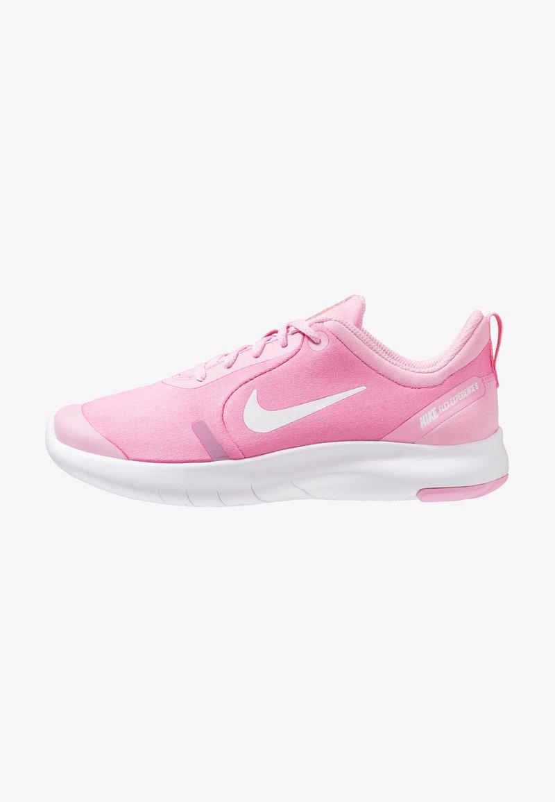 Nike Performance - FLEX EXPERIENCE RN 8 - Obuwie do biegania treningowe - pink rise/white/pink foam