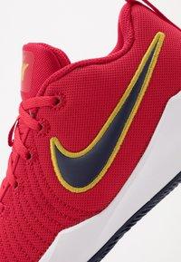 Nike Performance - TEAM HUSTLE QUICK 2 - Basketbalschoenen - university red/midnight navy - 2