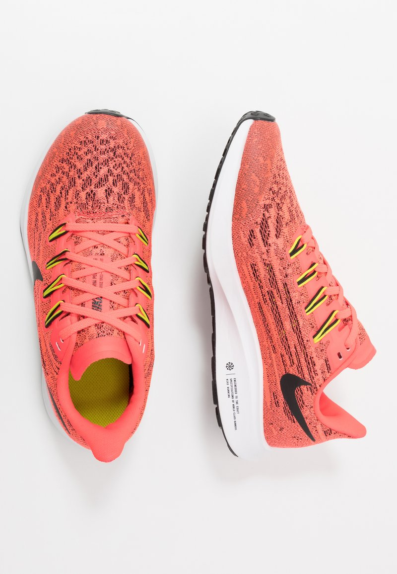 Nike Performance - AIR ZOOM PEGASUS 36 - Hardloopschoenen neutraal - laser crimson/black/bright cactus/white