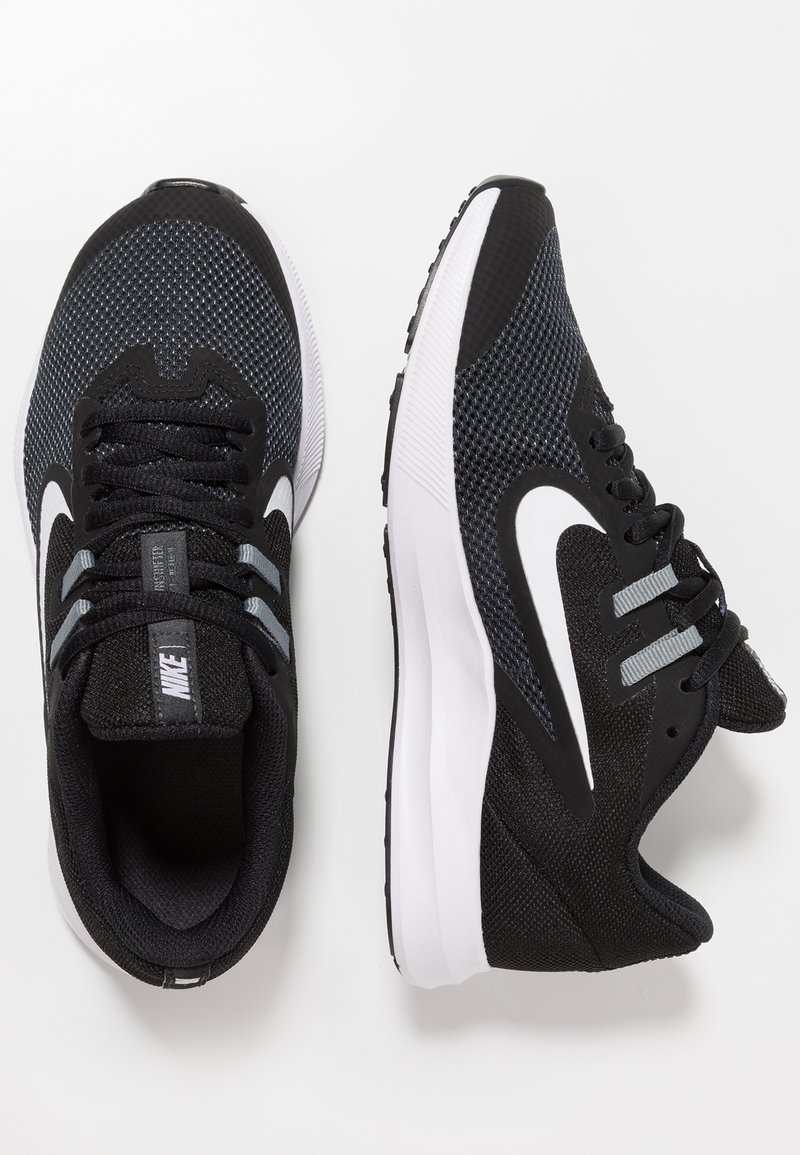 Nike Performance - DOWNSHIFTER 9 - Hardloopschoenen neutraal - black/white/anthracite/cool grey