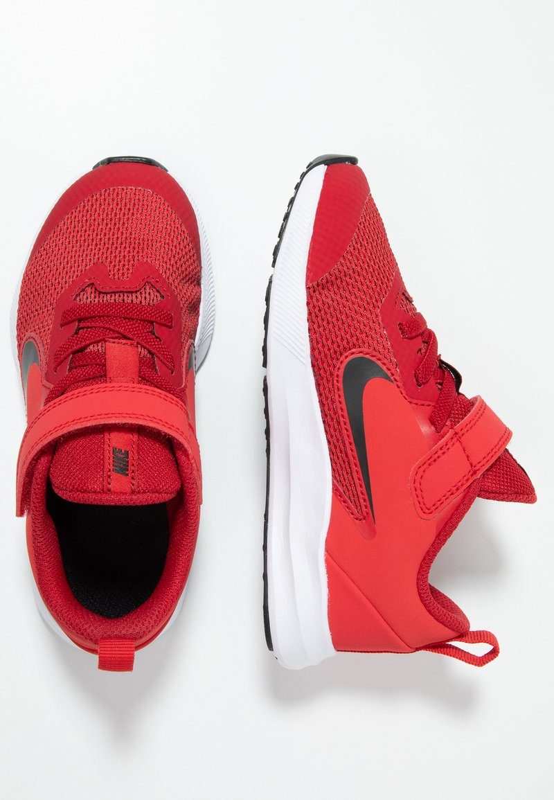Nike Performance - DOWNSHIFTER 9  - Obuwie do biegania treningowe - gym red/black/university red/white