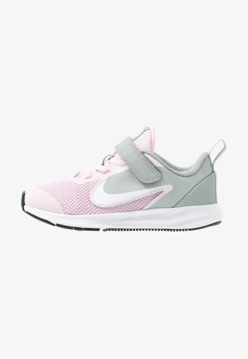 Nike Performance - DOWNSHIFTER 9  - Scarpe running neutre - pink foam/white/metallic silver/pure platinum