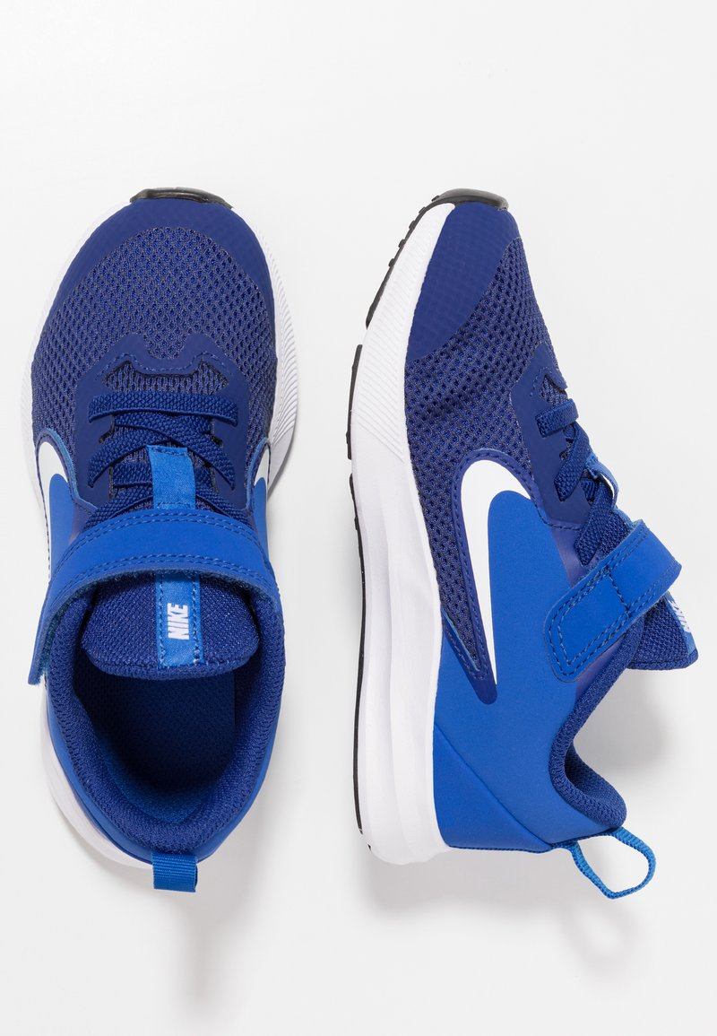 Nike Performance - DOWNSHIFTER 9  - Neutral running shoes - deep royal blue/white/game royal/black