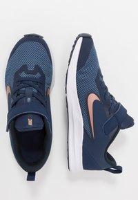 Nike Performance - DOWNSHIFTER 9  - Chaussures de running neutres - midnight navy/metallic red bronze/dark obsidian - 0