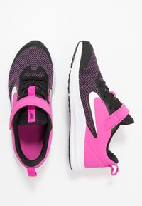 Nike Performance - DOWNSHIFTER 9  - Laufschuh Neutral - black/white/active fuchsia - 0