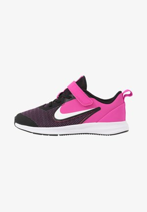 DOWNSHIFTER 9  - Scarpe running neutre - black/white/active fuchsia