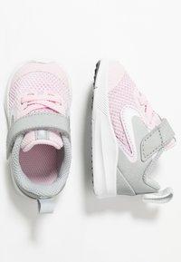 Nike Performance - DOWNSHIFTER 9 - Hardloopschoenen neutraal - pink foam/white/metallic silver/pure platinum - 1