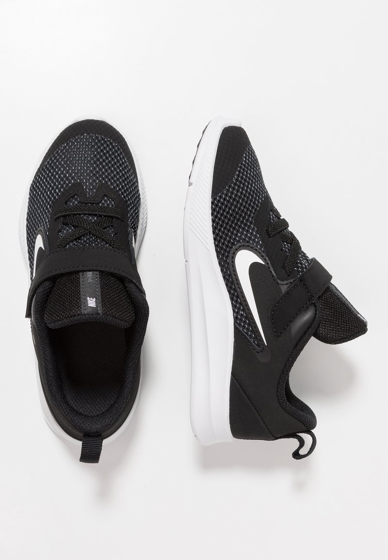 Nike Performance - DOWNSHIFTER 9 - Laufschuh Neutral - black/white/anthracite/cool grey