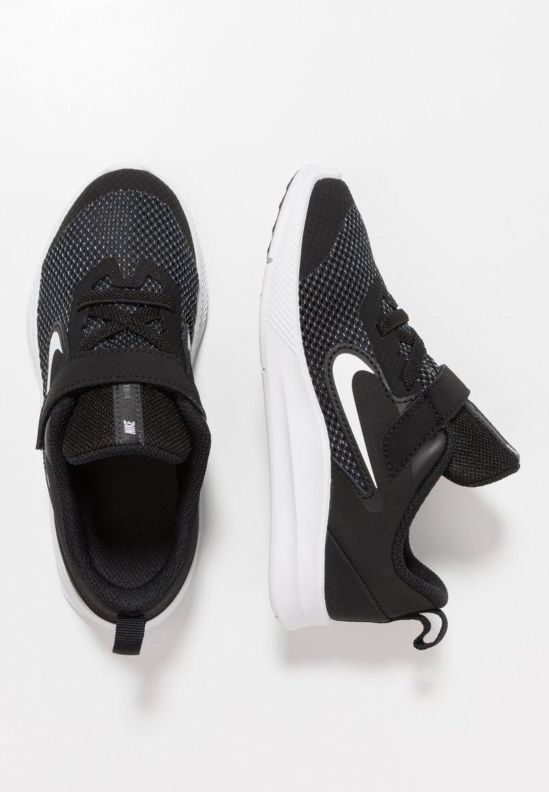 Nike Performance - DOWNSHIFTER 9 - Neutrala löparskor - black/white/anthracite/cool grey