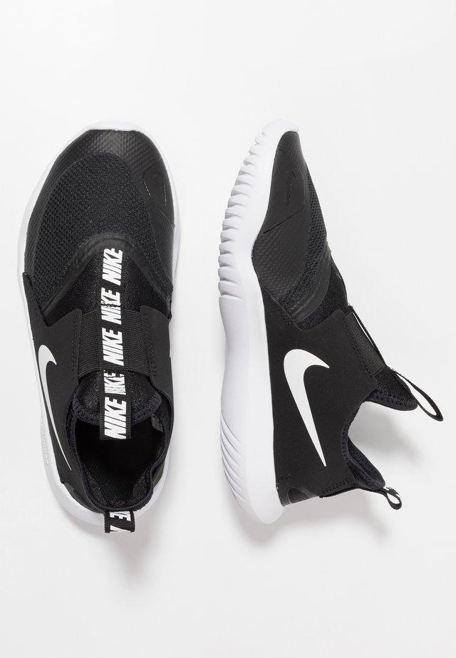 FLEX RUNNER - Löparskor för tävling - black/white