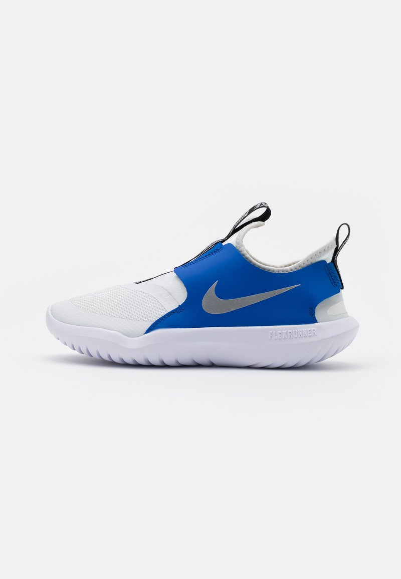 Nike Performance - FLEX RUNNER - Neutral running shoes - photon dust/metallic silver/game royal/black